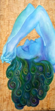 Manissha Khanna Essence of Love 12x24 Oil on Canvas
