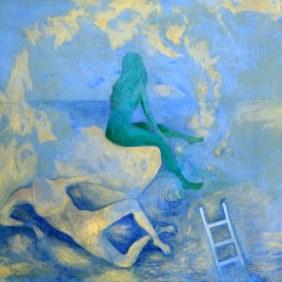 Priyanka Malhotra Dhingra On Higher Ground 24x24 Inch Oil on Canvas