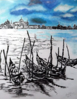 Shalini Gupta Untitled 21x27 Inch Mixed Media on Paper