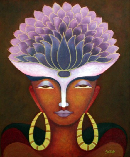 Sona Chopra Untitled 20x24 Inch Acrylic on Canvas