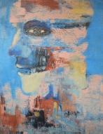 11) Jatin Chaudhary I King I Acrylic on Canvas I 24x18 Inches