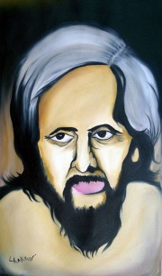 2) Aman Chakra I Nirala jee I Oil on Canvas I 18x29 Inches