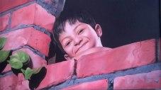 29) Rajpal Kalia I Cute Smile I Oil on Canvas I 36x24 Inches
