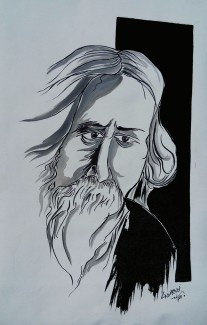 3) Aman Chakra I RNTaigor I Acrylic on Canvas I 18x29 Inches