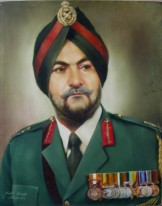 33) Shakti Singh I Portrait 2 I Oil on Canvas I 30x24 Inches