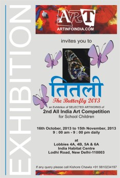 2013 October 16-15 November Titlee-The Butterfly Exhibition