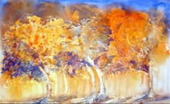 Amita Tree Series 2 Acrylic on Paper