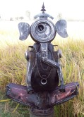 Harminder Singh Boparia Ganesh Metal Scrap 31 x 46 Inches 2012