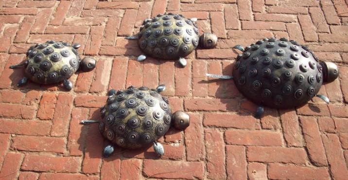 Harminder Singh Boparia Tortoise Family Bronze 19x15 2pcs 15x11 13x19 Inches 2013