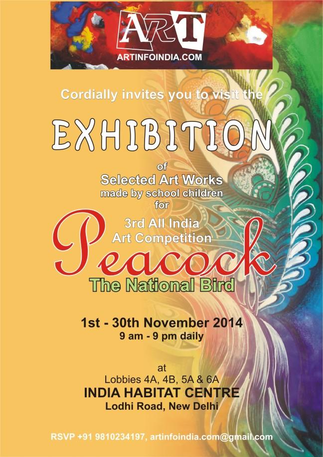 Exhibition Peacock-The National Bird