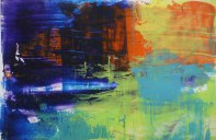 Kishore Shanker Untitled-2 Acrylic on Paper 5x7 Inches