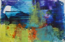 Kishore Shanker Untitled-3 Acrylic on Paper 5x7 Inches