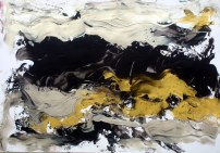 Kishore Shanker Untitled-6 Acrylic on Paper 12x16 Inches