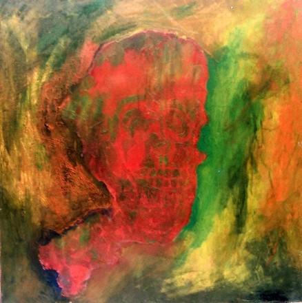 Kishore Shanker Untitled 8 Oil on Canvas