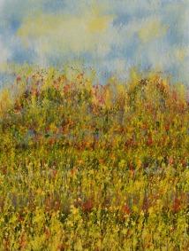 Mahmood Ahmad Landscape-13 Acrylic on Canvas 48 x 36 Inch