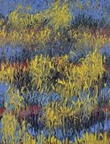 Mahmood Ahmad Landscape-3 Acrylic on Canvas 22 x 17 Inch