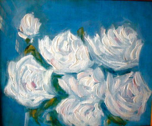 Raj Jain White Roses