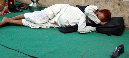Ravindra Kumar Tanwar After a days work