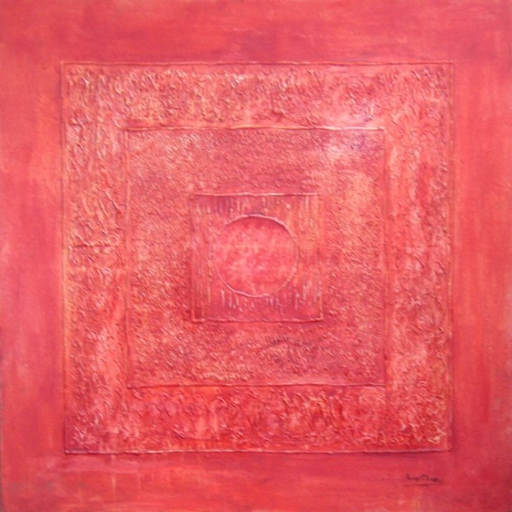 Roop Chand Oil on Canvas 40x40 Inches 2013 2