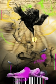 Anand Jaiswal The Natural Instinct-1 Archival Digital Print on Canvas 34 x 51 Inches