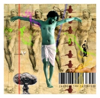 Anand Jaiswal The Natural Instinct-7 Archival Digital Print on Canvas 34 x 34 Inches