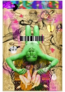 Anand Jaiswal The Natural Instinct-9 Archival Digital Print on Canvas 34 x 51 Inches