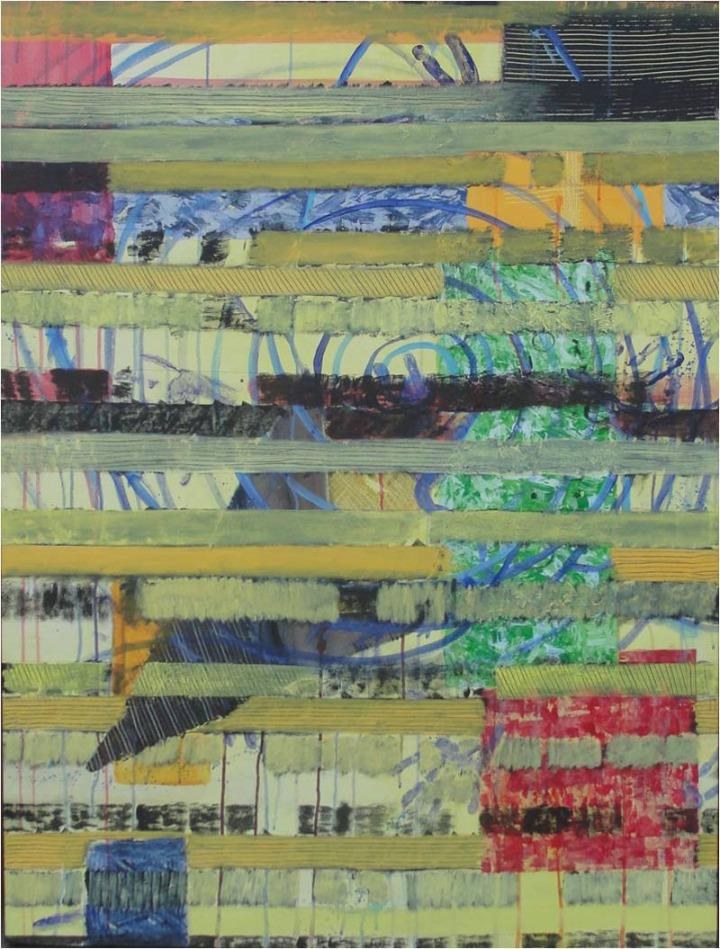 Archana Bansal Journey 2 Acrylic on Canvas 48 x 36 Inches 2011