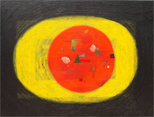 Archana Bansal Untitled 1 Acrylic on Canvas 36 x 48 Inches 2010