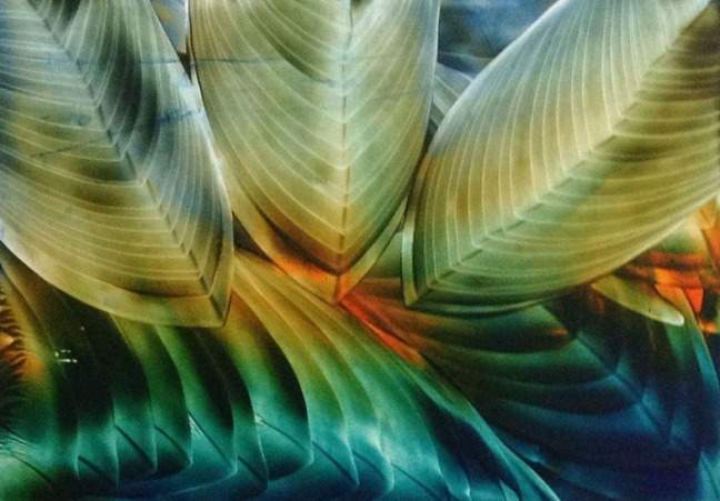 B. Jaya Lakshmi Untitled 4 Encaustic