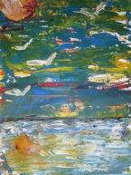 Beena Rohila Nature 2 Acrylic on Paper 8 x 6 Inches