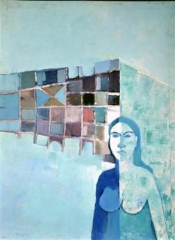 Beena Rohila Parichya Nai Zindagi Se 1 Oil on Canvas 30 x 40 Inches