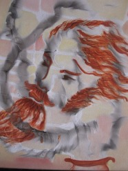 Beena Rohila Untitled 2 Oil on Canvas 18 x 18 Inches