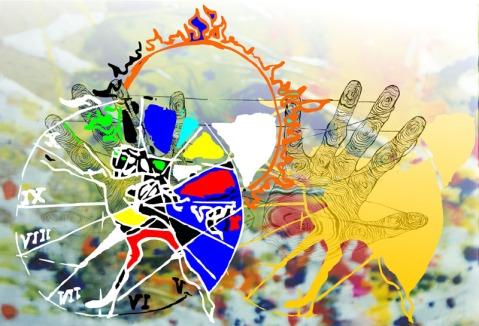 DS Kapoor Cycle of Life Digital Art