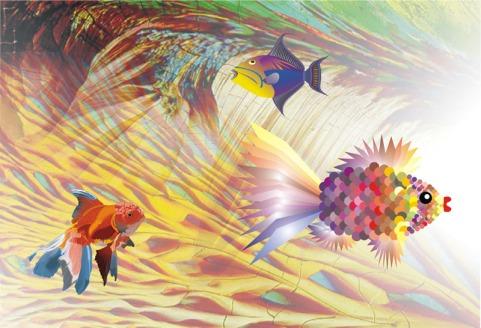 DS Kapoor Inspiration Under Water Digital Art