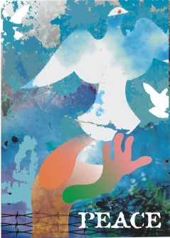 DS Kapoor Peace Mission Digital Art
