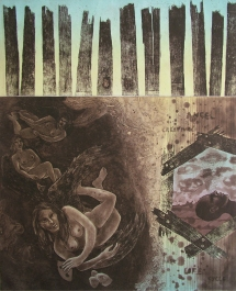 Rakesh Bani Dream Land Etching & Aquatint 58 x 50 cm 45K