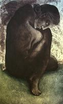 Rakesh Bani Eye Catcher Etching & Aquatint 65 x 36 cm 35K