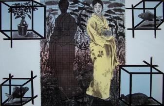 Rakesh Bani Memories Etching & Aquatint 50 x 70 cm 45K
