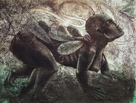 Rakesh Bani Metamorphosis Etching & Aquatint 50 x 65 cm 2010