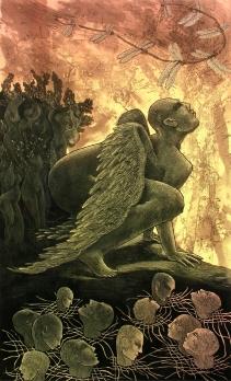 Rakesh Bani Metamorphosis Etching & Aquatint 56 x 36 cm 35K