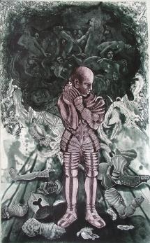 Rakesh Bani Metamorphosis Etching & Aquatint 80 x 49 cm 45K