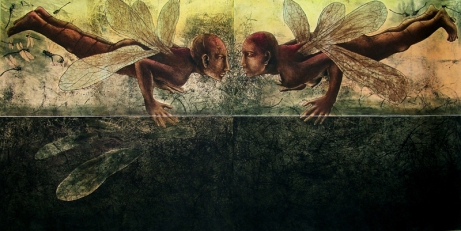 Rakesh Bani Metamorphosis VII Etching & Aquatint 100 x 200 cm 150K