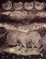 Rakesh Bani Victory Etching & Aquatint 65 x 50 cm 45K