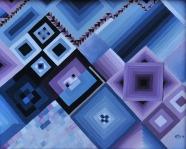 Ritu Bhatnagar Facets of Life 24 x 30 Inches Oil on Canvas 2010 30K