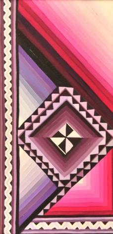 Ritu Bhatnagar Frolic 24 x 12 Inches Oil on Canvas 2010 12K