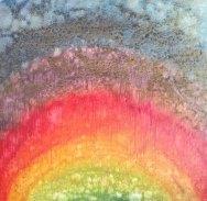 Sudha R Sama Anant Oil on Canvas 18 x 18 Inches