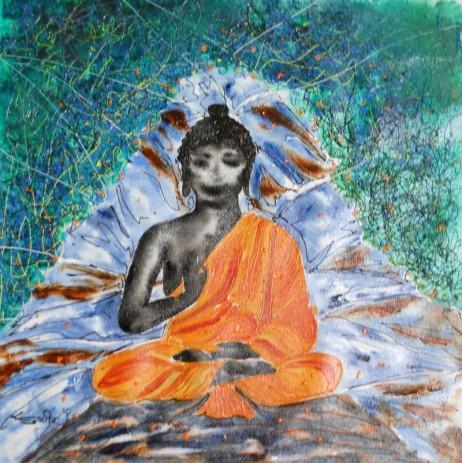 Sudhir Tripurari Untitled 5 Mixed Media