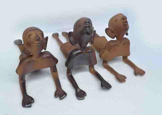 G Reghu Yoga Ceramic 20 x 10 x 8 Inches