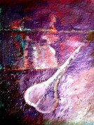Jasbeer Kaur Rhythm-II Acrylic on Paper 12x10 Inches 2013 Rs. 10,000