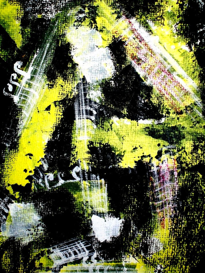 Jasbeer Kaur Symphonies Mix-Media on Paper 14x8 Inches 2011 Rs. 13,000